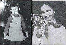В детстве и молодости, политики и известные люди. Фото. - чехова