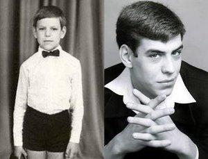 В детстве и молодости, политики и известные люди. Фото. - дюжев