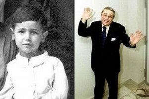 В детстве и молодости, политики и известные люди. Фото. - петросян