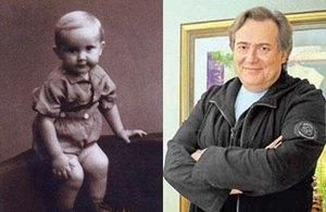 В детстве и молодости, политики и известные люди. Фото. - стоянов
