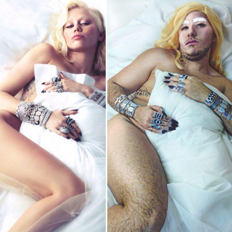 Эротические фото мужчин знаменитостей 25 фотография