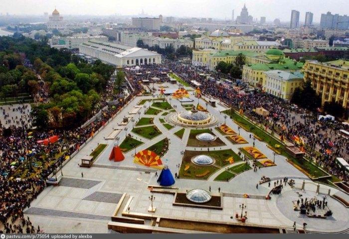 Как Москва праздновала 850-летие (40 фото)