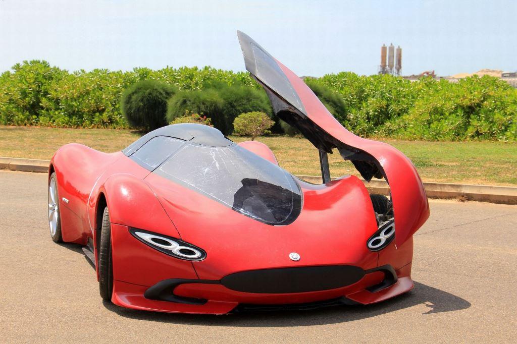 Шикарный автомобиль созданный своими руками-1