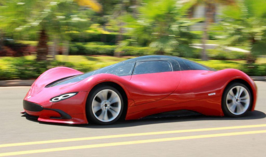 Шикарный автомобиль созданный своими руками-2