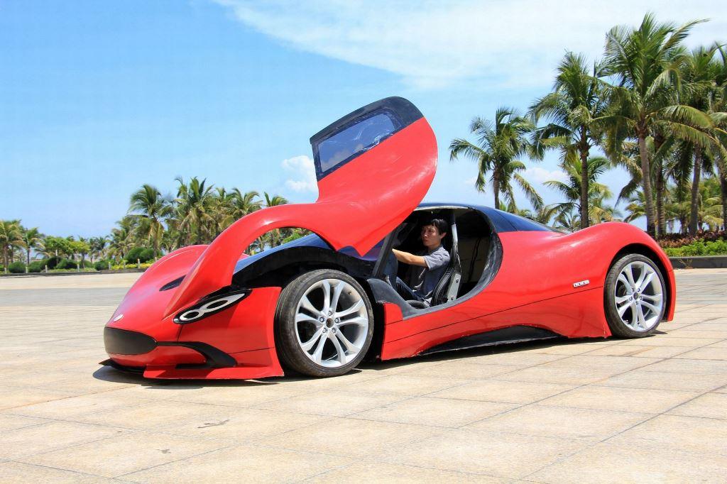 Шикарный автомобиль созданный своими руками-5
