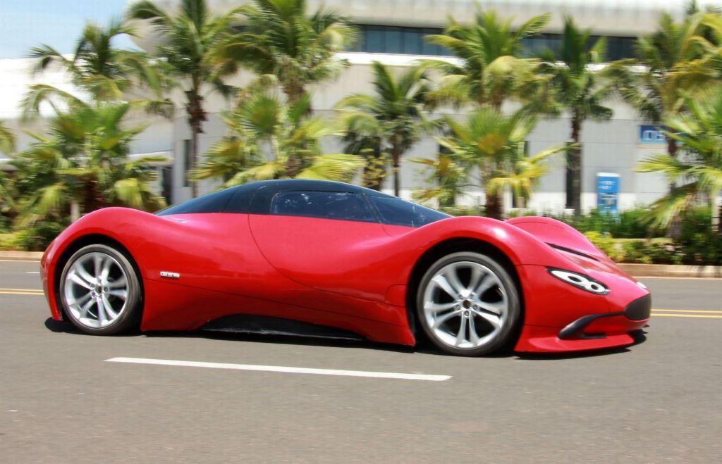 Шикарный автомобиль созданный своими руками-6