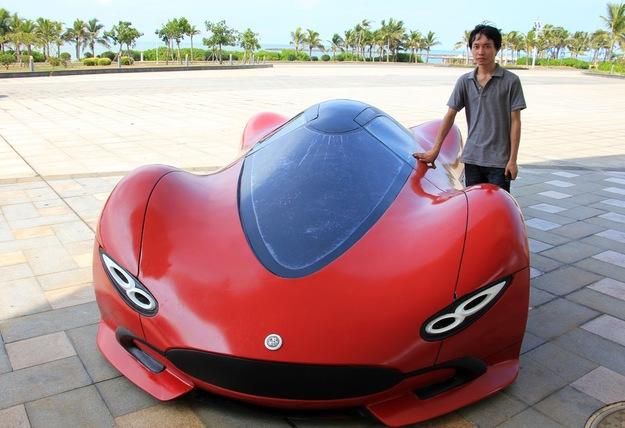Шикарный автомобиль созданный своими руками-8