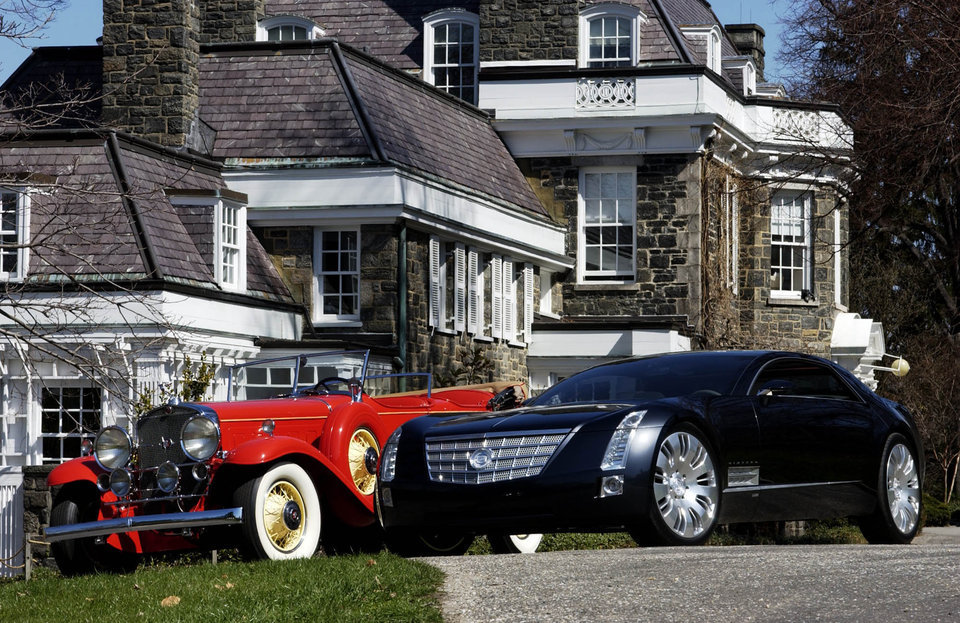 Роскошные автомобили тогда и сейчас