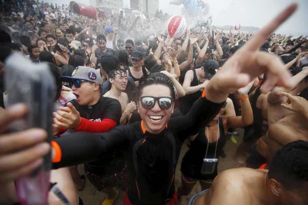 В Южной Корее, прошел фестиваль грязи.