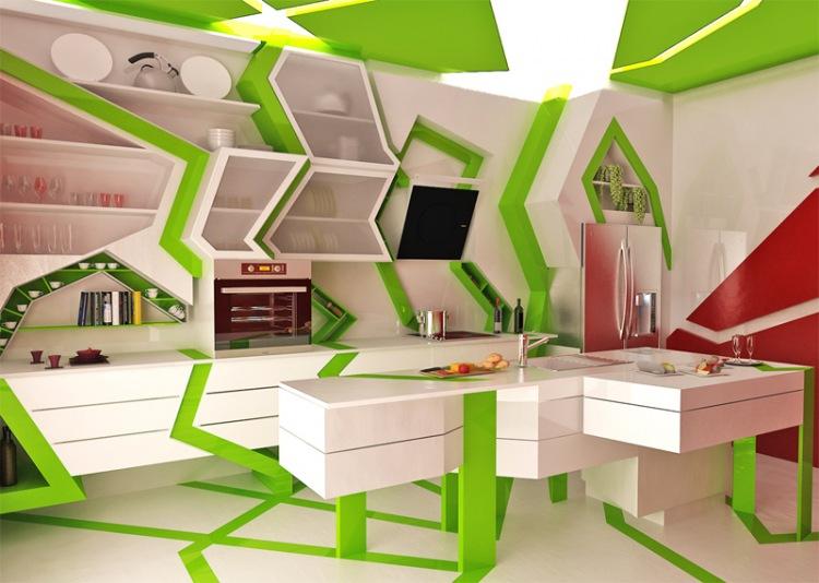 Креативный подход к оформлению кухни