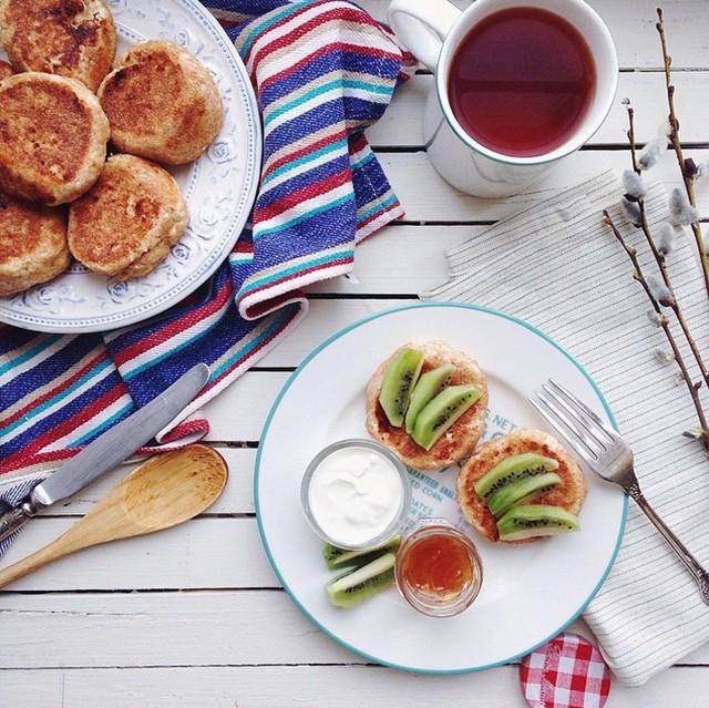 Завтраки, обеды, ужины, перекусы так и просятся в Instagram