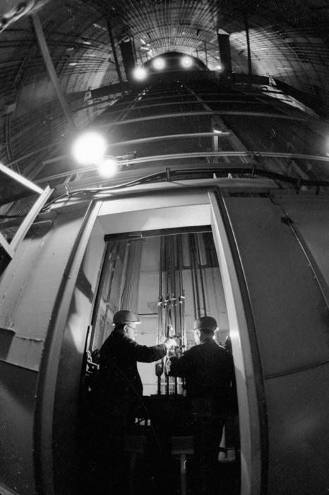 Исторические снимки строительства Останкинской телебашни. (26 фото)