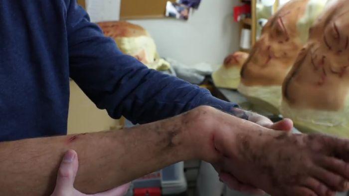 Грим для Леонардо Ди Каприо в фильме «Выживший» (7 фото)