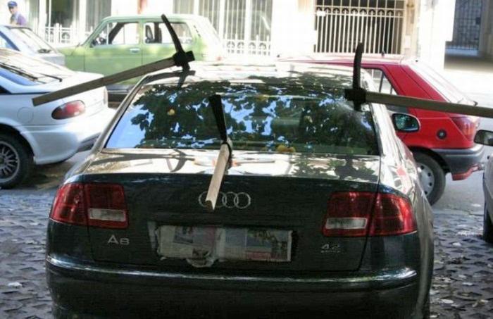 50 вразумительных рекомендаций тем, кто никак не научился парковаться!