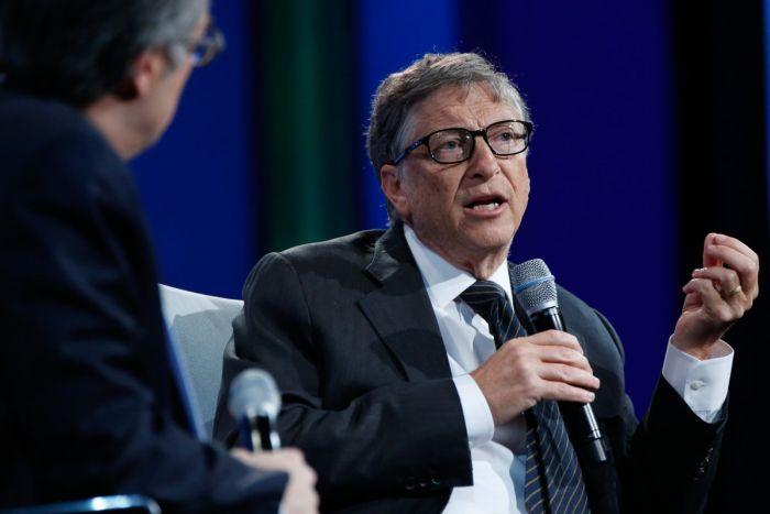 Любознательные данные из биографии Билла Гейтса (17 фотоснимков)
