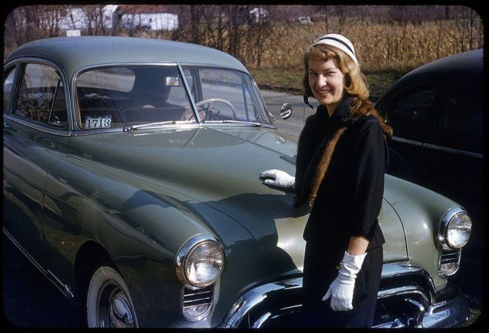 Соединенные штаты 50-х годов в разноцветных снимках (77 фото)