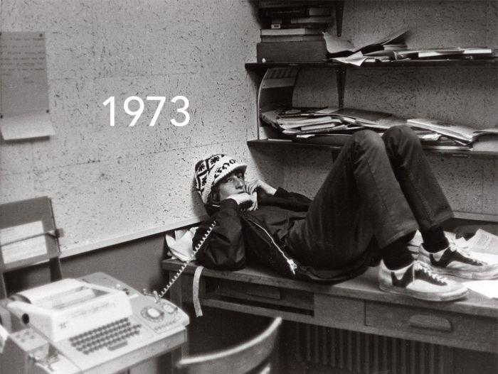 Магнат Билл Гейтс восстановил знаменитый снимок из юности (2 фото)