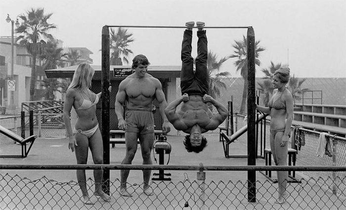 Фото, на каких запечатлена целиком жизнедеятельность Арнольда Шварценеггера (101 фотография)