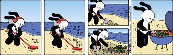 Смешные и забавные комиксы (20 картинок)