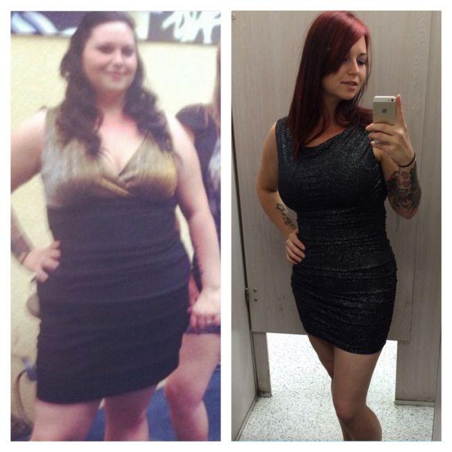 Люди, каким посчастливилось сбросить лишний вес (27 фото)
